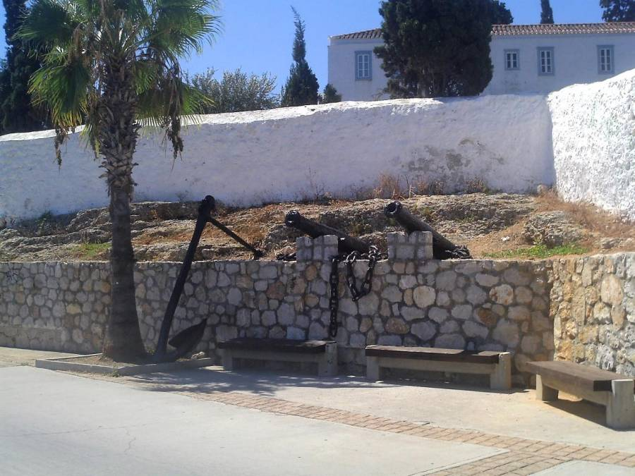 Memorial of the Spetses Navy - Argo Saronic islands turistic guide
